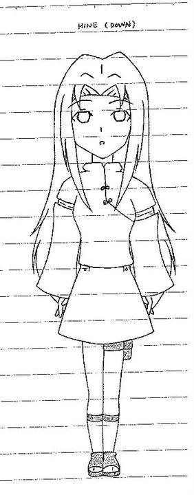 Naruto Character by Ninetalesroxy