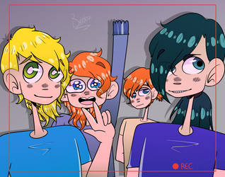 {AT} Group Selfie~ by Bubblegum-girl11