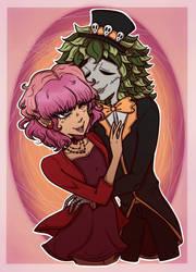 {Art Trade} James and Valentina
