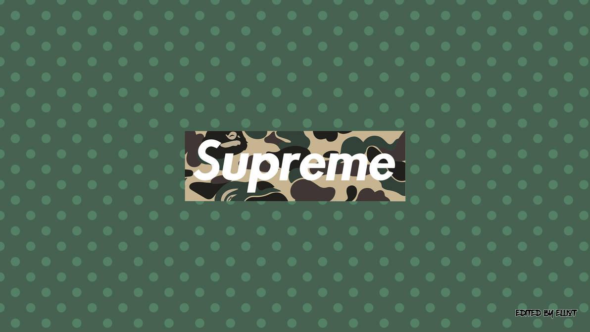 supreme x bape wallpaper  1920x1080  by elliotback dblaeic