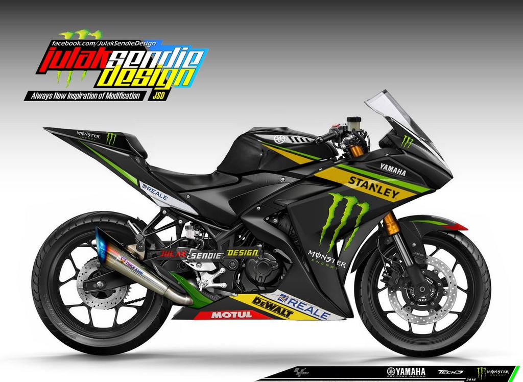 yamaha yzf r3 livery motogp tech 3 by julaksendiedesign on. Black Bedroom Furniture Sets. Home Design Ideas