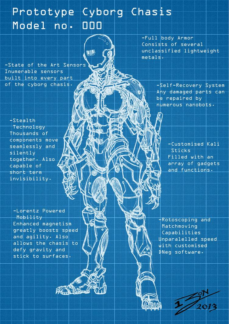 Cyborg Blueprint by BigPoPpa-JoN