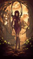 Sarah Kerrigan - Queen Of Blades by Vexod14