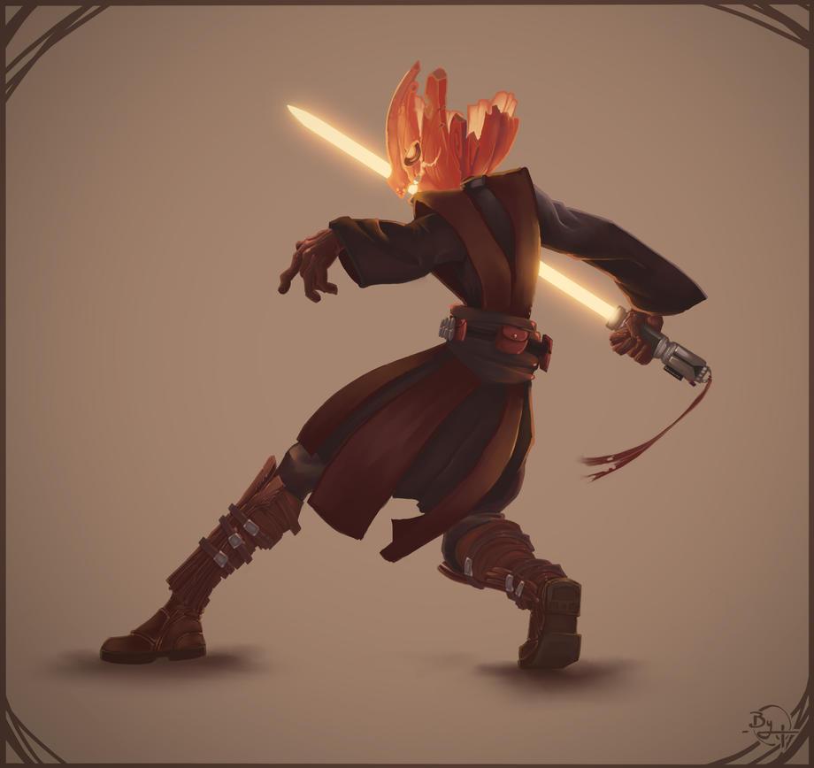 Pumpkin Jedi by Vexod14