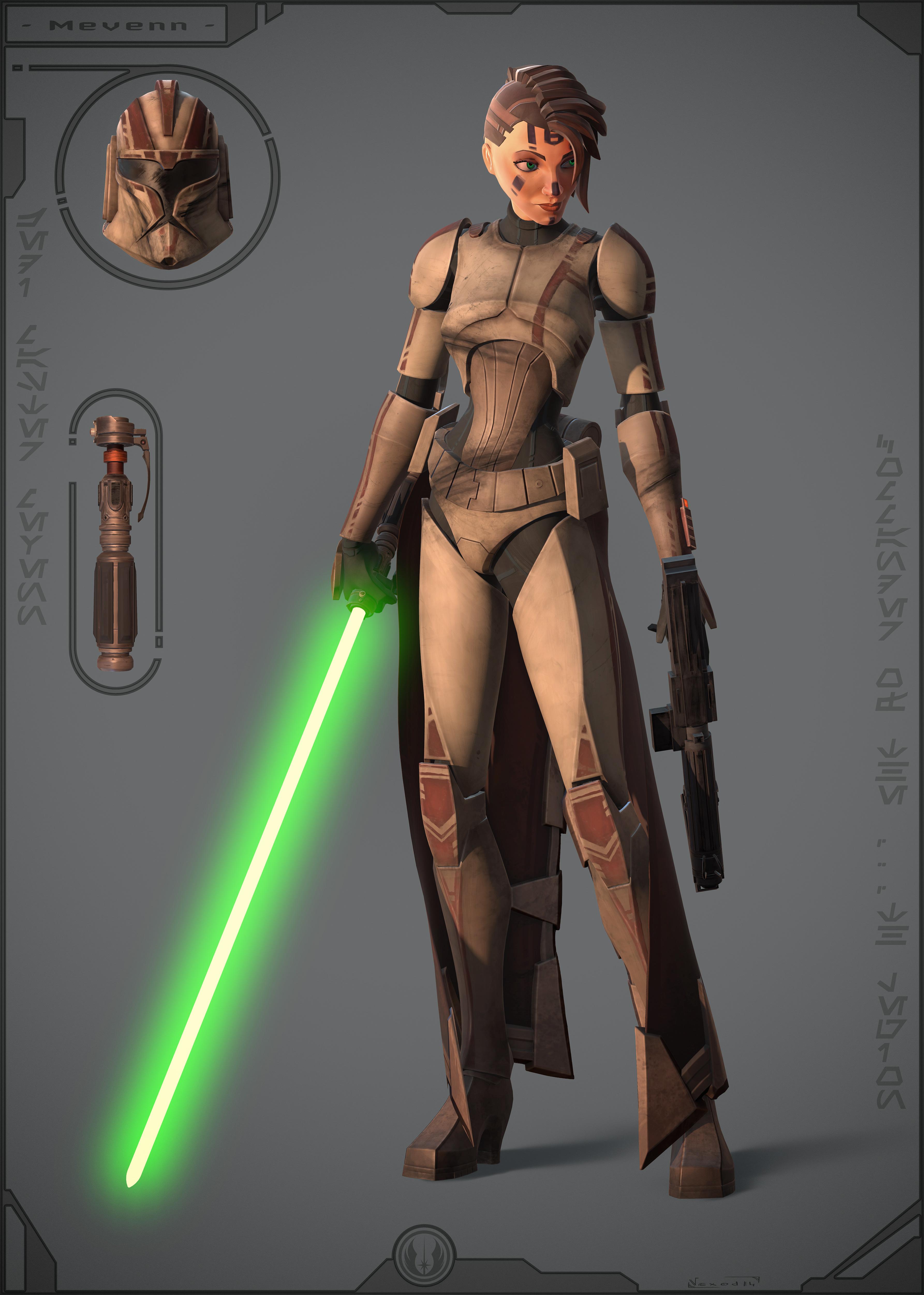 Jedi Master Mevenn - Commander of the 414th legion