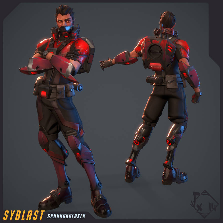 Syblast - GroundBreaker Skin by Vexod14