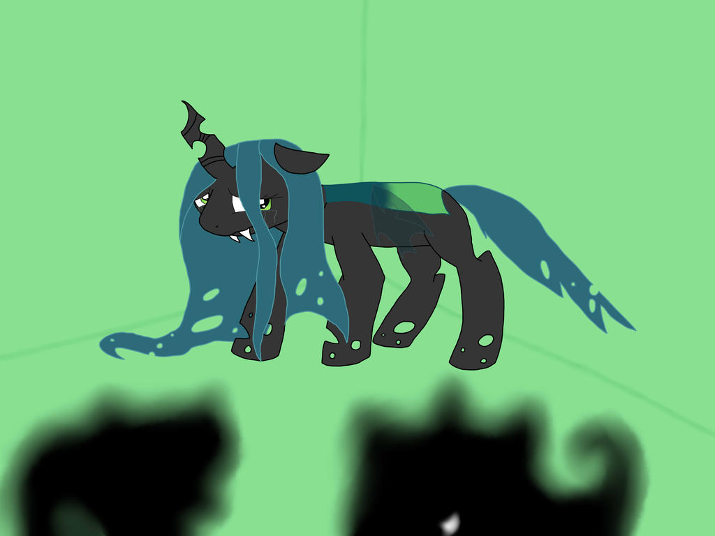 Young Queen Chrysalis by SilverPokemon