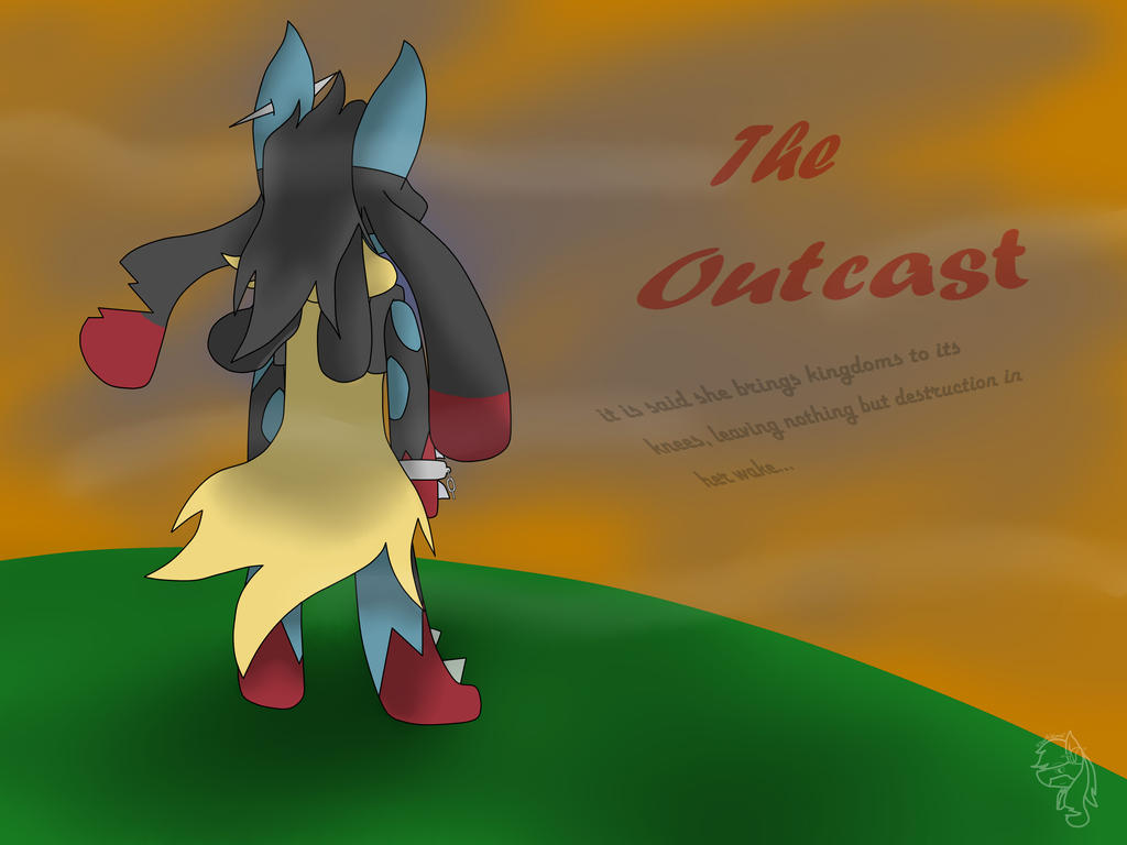 The Outcast (new comic!) Cover Page by Silversan-Art