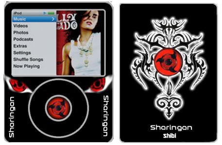 Ipod Nano Sharingan by Shibigohan