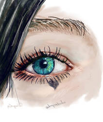 Eye painting by dragenlorden