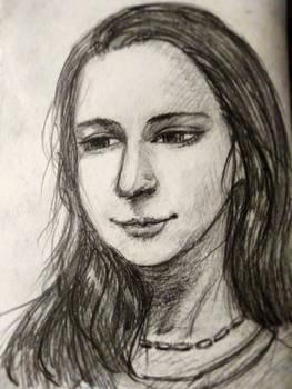 Pencil portrait :)