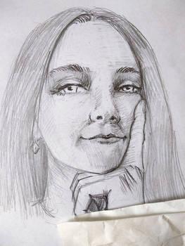 process of new portrait