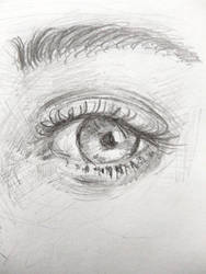 Pencil EYE drawing