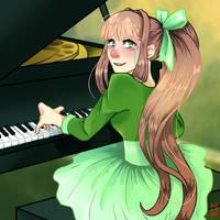 Just Monika by MaxineWestfall