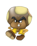 Commission: Toad/Goomba Hybrid