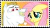 Fluttershy x Bulk Biceps Stamp by Mario-Wolfe