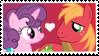 Sugar Belle x Big Macintosh Stamp by Mario-Wolfe
