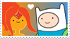 Finn x Flame Princess Stamp by Mario-Wolfe