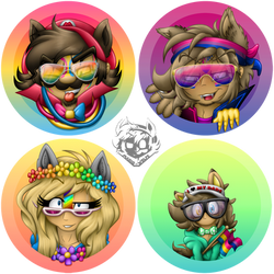 Wolfeverse Pride Icons