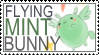 FlyingMintBunny Stamp by whenpigsflythensure