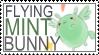 FlyingMintBunny Stamp by whenpigsflythensure
