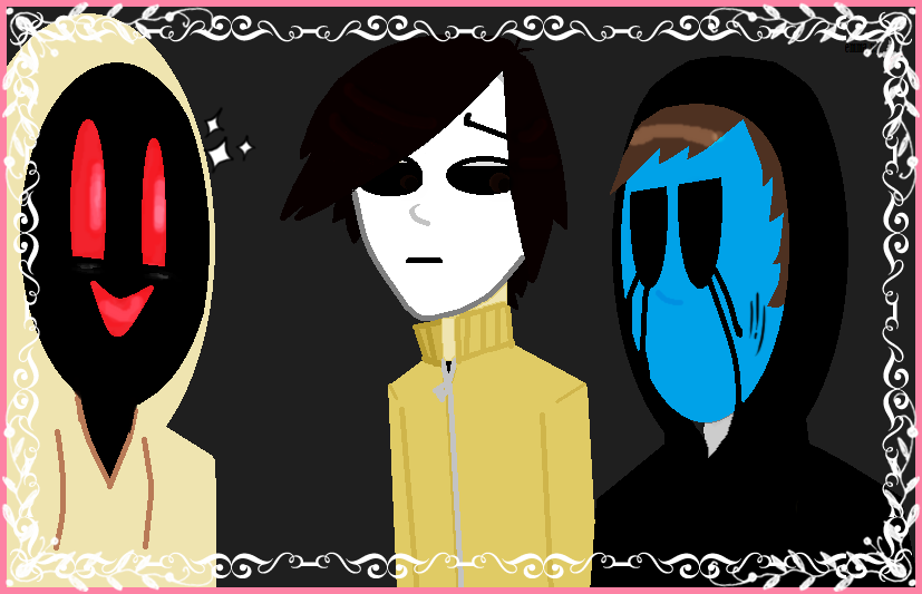 eyeless Jack,masky and hoody by brancka on DeviantArt
