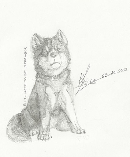 La galería Ginga de Keira. Riki___need_to_be_stronger_by_keira_b_wolf-d5m8hyi