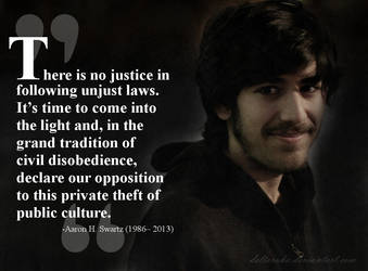 There is no justice in following injust laws