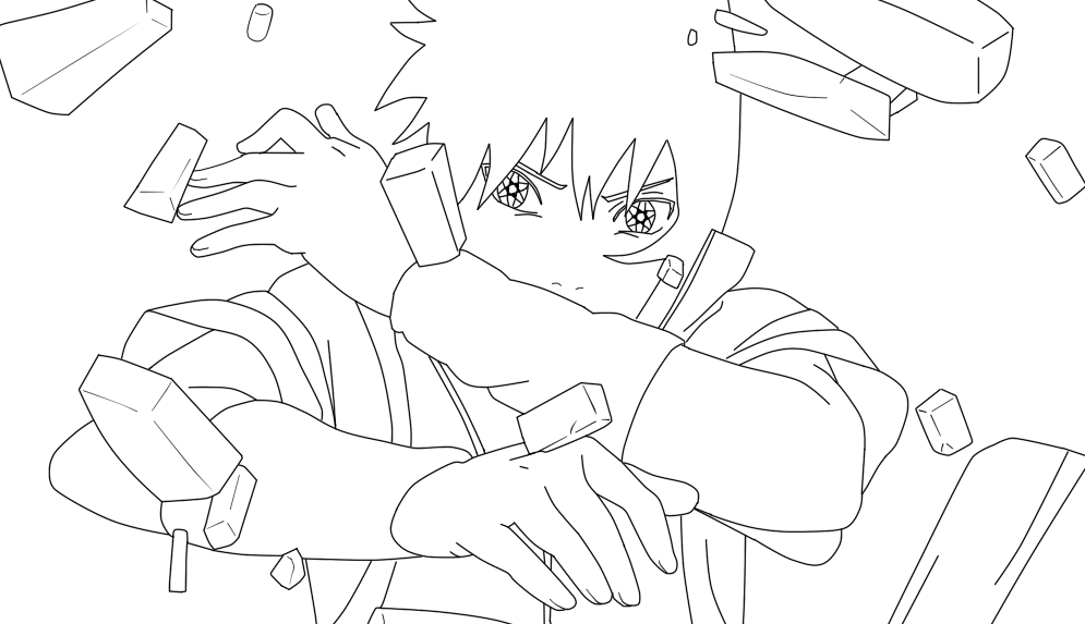 Naruto Shippuden Lineart : Sasuke shippuden lineart by kyuubinaruto on deviantart