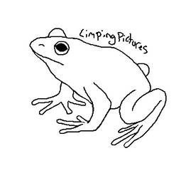 Frog Lineart by LimpingPictures