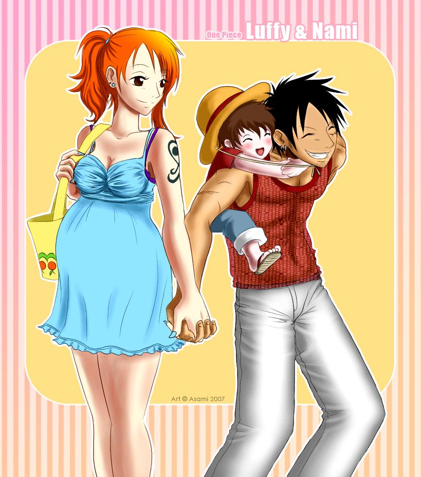 One Piece Luffy X Nami