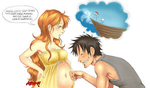 LuNa - Luffy cannot wait.. by iamAsami