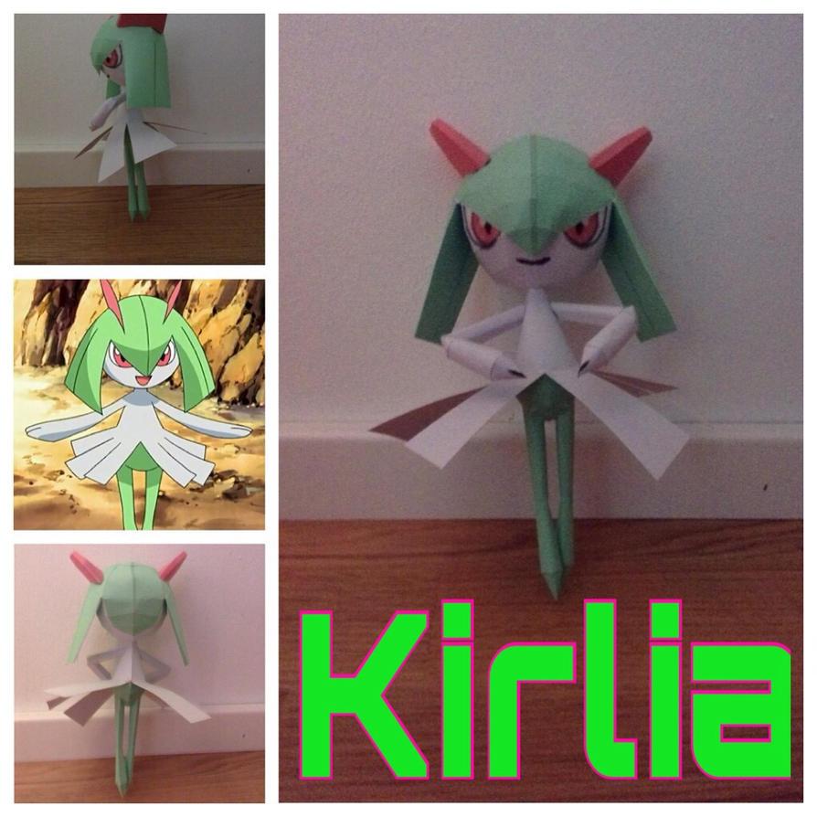 Kirlia Papercraft by giden445