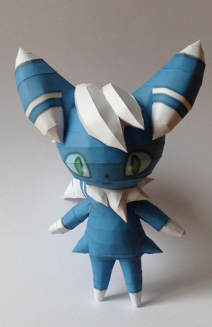 Meowstic Papercraft by giden445