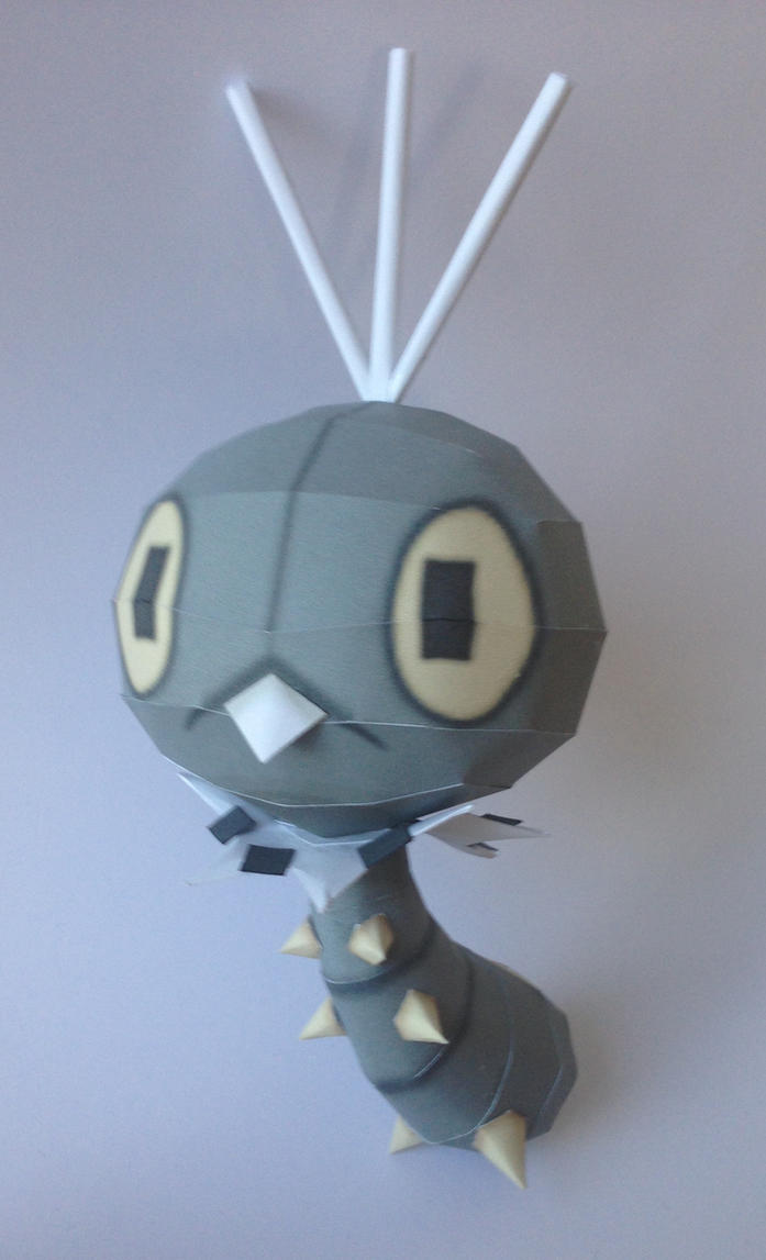 Scatterbug Papercraft by giden445