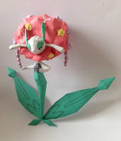 Florges Papercraft view 1 by giden445