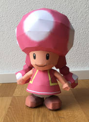 Toadette Papercraft by giden445