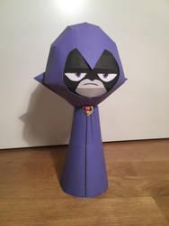 Raven Papercraft by giden445