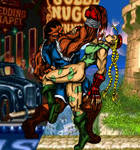 Cammy Vs Balrog by hirozai by Irisa007