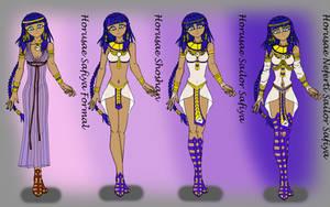 Horusae Neferti Sailor Safiya by Irisa007