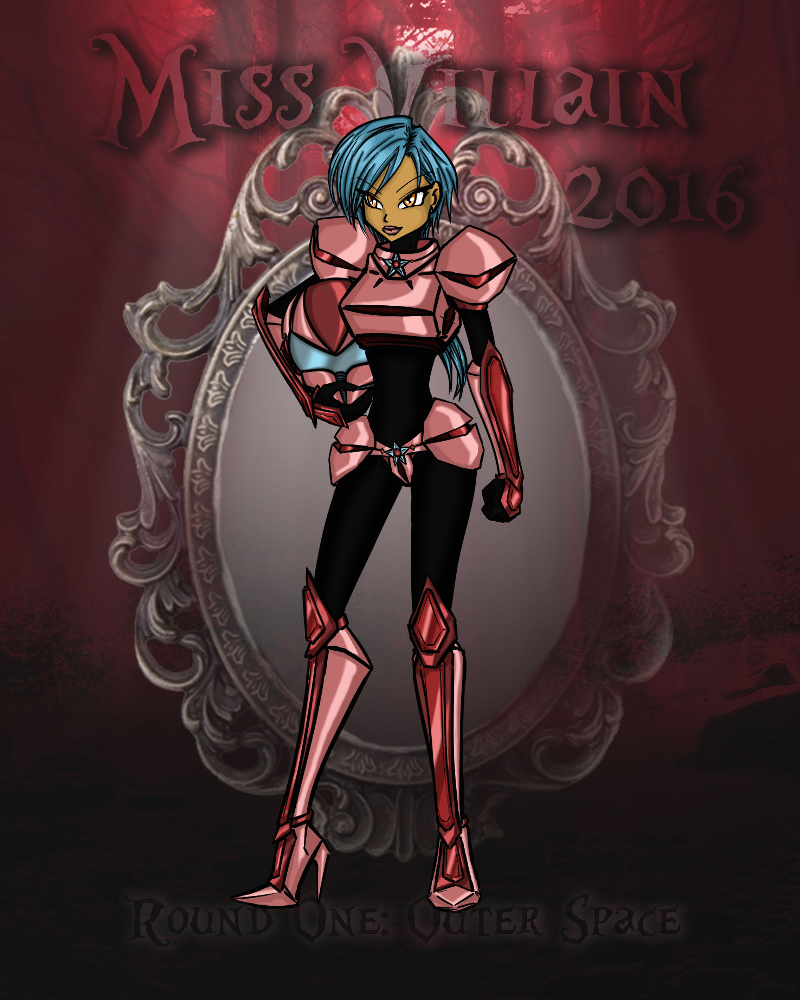 Miss Villain 2016 1st Round: Space Sabs by Irisa007