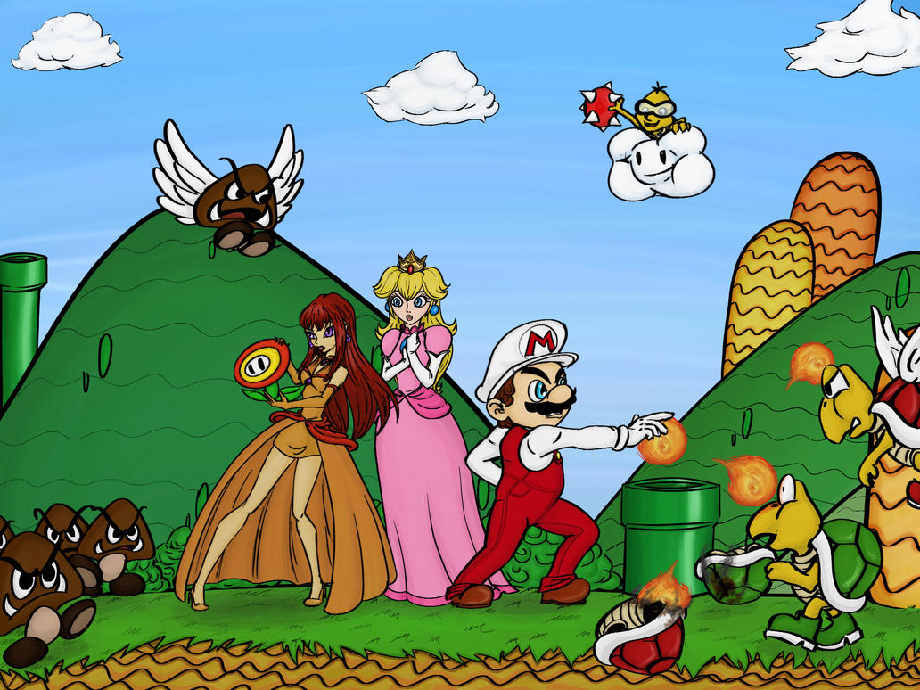 Teo In Super Mario Land by Irisa007