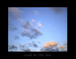 Sky like heart