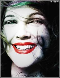 Drew Barrymore - red lips