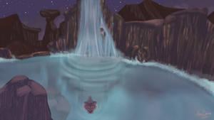 Waterfall by AlexDama