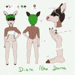[Character Sheet] Diane Alex Dama- 2019 by AlexDama