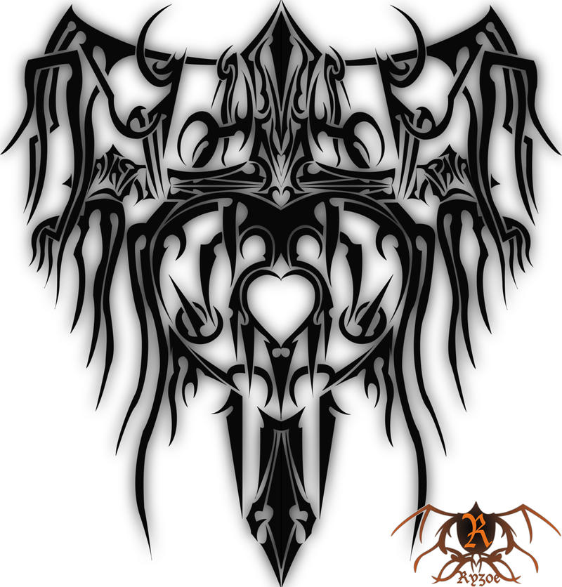 Free Download Art Beautiful Dec Images Zedge Hearts HD WallpaperTribal Cross With Tribal Wings