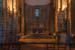 Une Eglise a Domfront Orne France