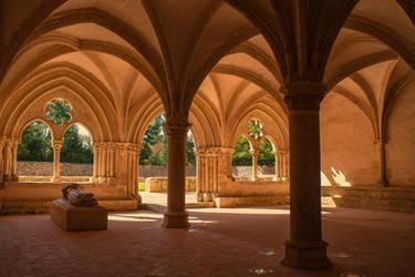 Abbey de l'Epau Sarthe France by hubert61