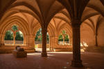 Abbey de l'Epau Sarthe France